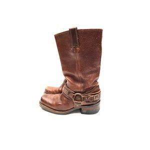 Leather Biker Boots By Frye